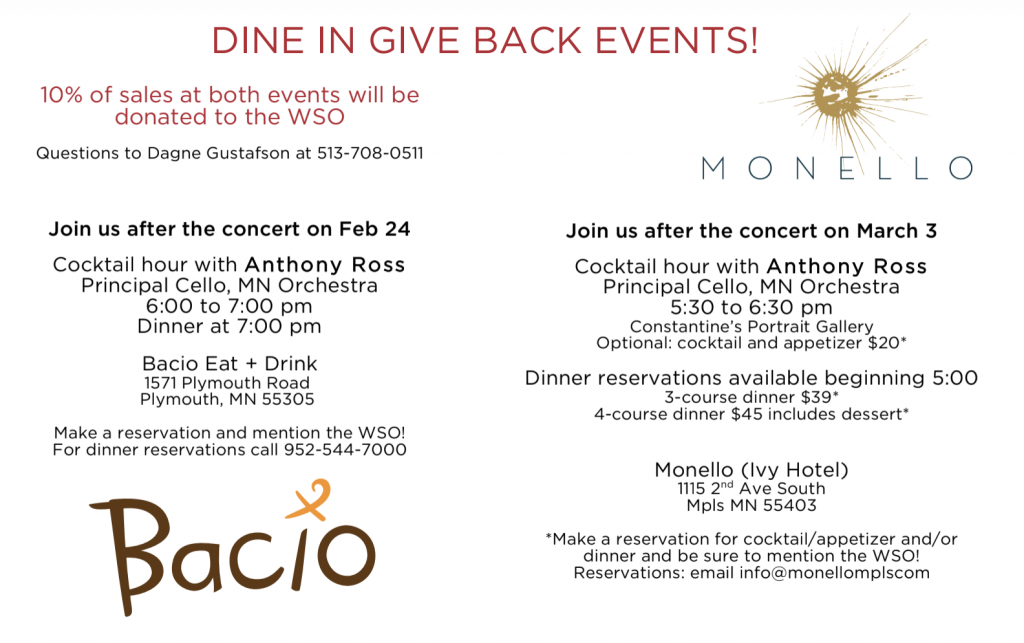 Dine-In & Give Back