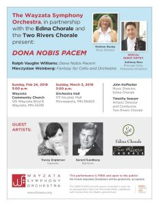 Dona Nobis Pacem Concert Poster